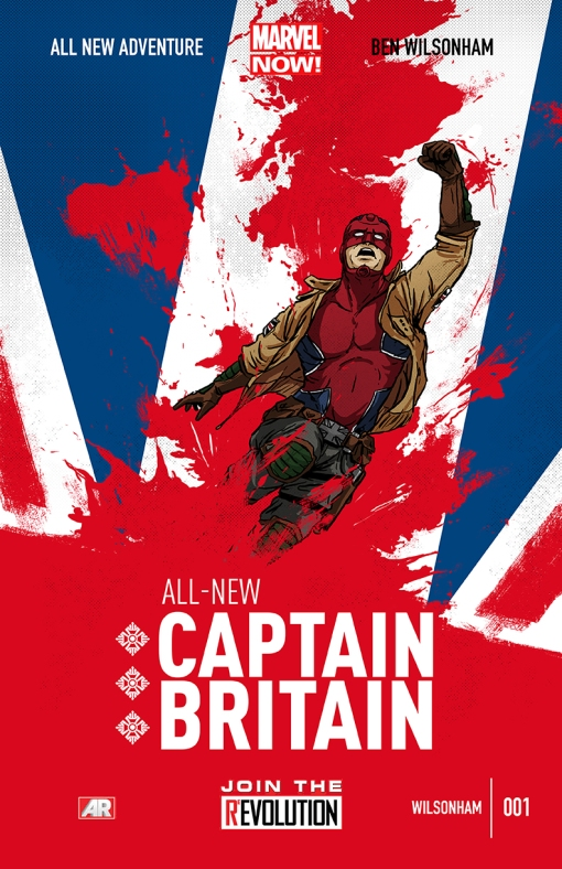 Captain Britain Cover by Ben Wilsonham
